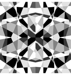 Monochrome Geometric Pattern vector