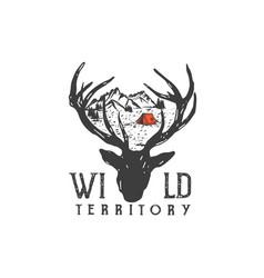 Wild territory vector