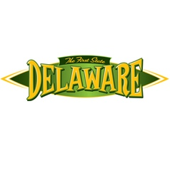 Delaware The First State vector image vector image