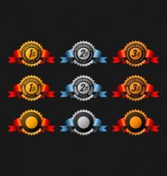 medal riband vector image