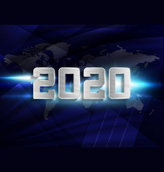Happy new 2020 year new years 2020 holiday vector