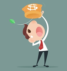 Losing Money vector image