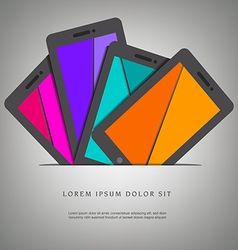 Smart Phone Pad Slot vector