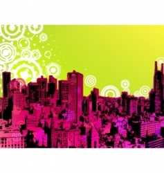 urban trendy poster vector image