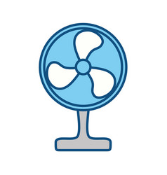 Floor fan symbol vector