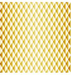 golden seamless rhombus pattern vector image vector image