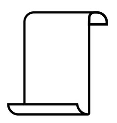 paperhangings icon vector image
