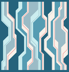 abstract seamless pattern with lines vector image