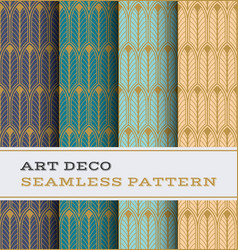 Art deco seamless pattern 26 vector