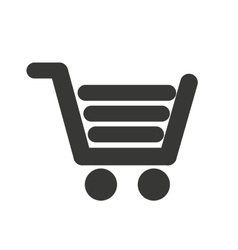 cart shopping isolated icon design vector image