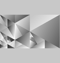 dynamic gray geometric gradient mosaic triangular vector image