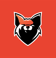 fox e sport logo icon vector image