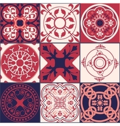 Moroccan tiles Pattern vector