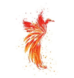 Phoenix - Mythical Bird vector