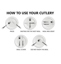 Rules of etiquette in a restaurant vector