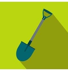 Shovel flat icon vector image