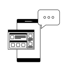 Smartphone device with webpage template and speech vector
