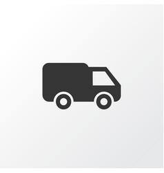 van icon symbol premium quality isolated truck vector image