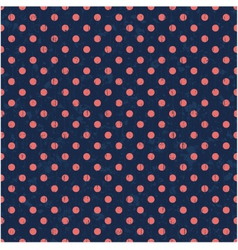 seamless polka background pattern vector image vector image