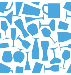 seamless glass pattern vector image
