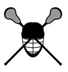 lacrosse 08 vector image