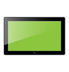 Win Tablet vector image vector image