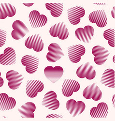 Abstract seamless pattern with halftone vector
