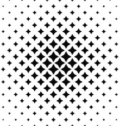 Black and white abstract polygon pattern vector image