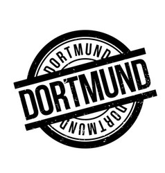 Dortmund rubber stamp vector