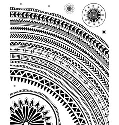 Ethnic style ornament vector