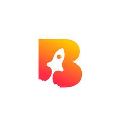 Initial b rocket vector