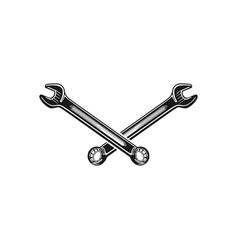 service repair logo design inspiration vector image