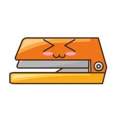 stapler cute cartoon vector image