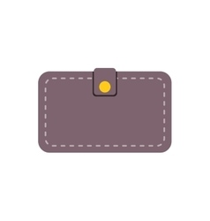 wallet save money icon vector image