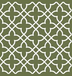figured seamless grating pattern - arabesque vector image vector image