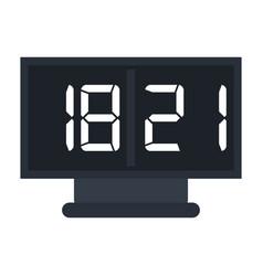 board score american football icon vector image