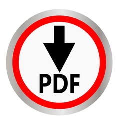 PDF download vector image vector image