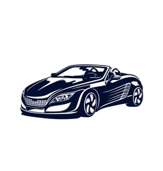 Sport automobile vector image