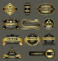 Genuine product vector