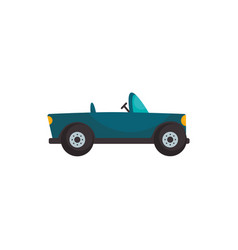 Isolated roadster car vehicle flat style icon vector