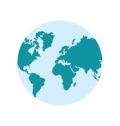 Planet earth world design vector