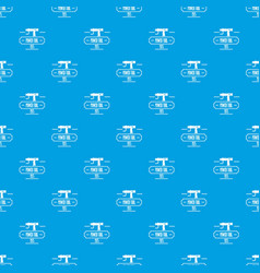 power tool pattern seamless blue vector image