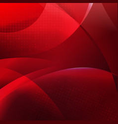 red dinamic background vector image