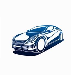 Big automobile vector image vector image