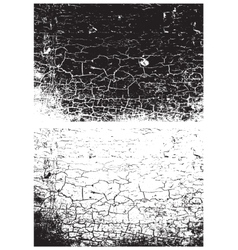 Grunge black and white texture Distress texture vector image vector image