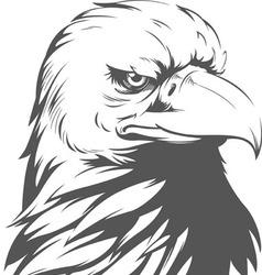 Bald Eagle Silhouette vector image vector image