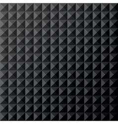 Geometrical black seamless pattern vector image vector image