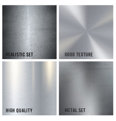 metal texture design concept vector image