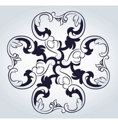 Ornate pattern vector image vector image