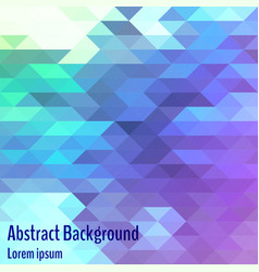abstract geometric background bright polygon vector image